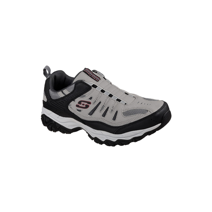 a12014b50ad6 Skechers Men s Gray Black After Burn Memory Fit Shoe
